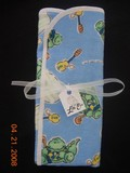 Pair of Dinosaur Burp Cloths