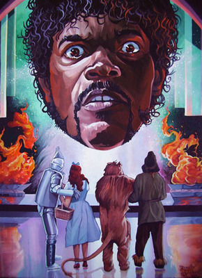 What If Samuel L. Jackson Were The Wizard Of Oz?